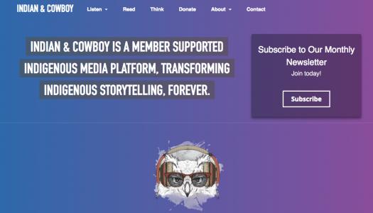 Ryan McMahon has big plans for his Indigenous media platform Indian & Cowboy