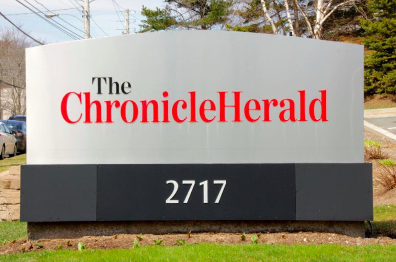 Over 500 days into a work stoppage at the Chronicle Herald, the government is taking action. Photo courtesy of Ariane Hanlon.
