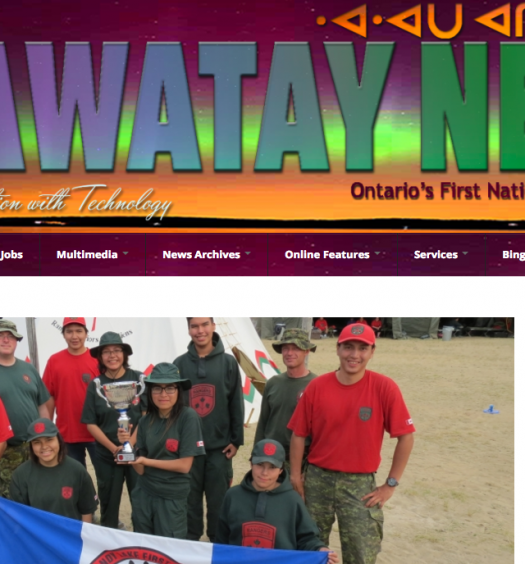 Wawatay Native Communication Society says it was denied the Toronto and Ottawa licenses because of its government funding. Screenshot by J-Source.