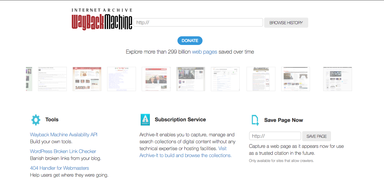Online access to archived pages on the Internet Archive uncertain