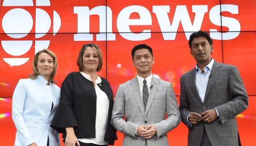 Arsenault, Barton, Chang and Hanomansing are the new hosts of 'The National' on CBC