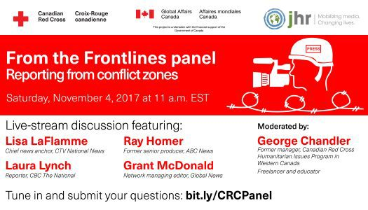 From the Frontlines: reporting from conflict zones panel