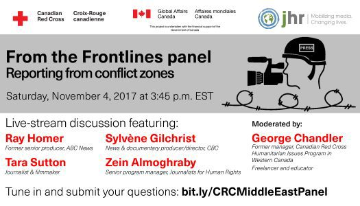 From the Frontlines: reporting from the Middle East panel