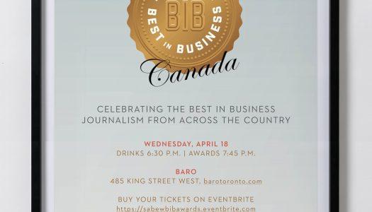 SABEW Canada's Best in Business Awards
