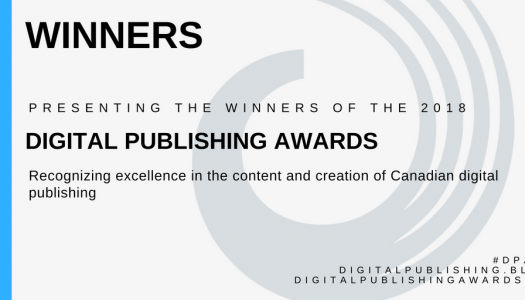 Winners of 2018 Digital Publishing Awards announced