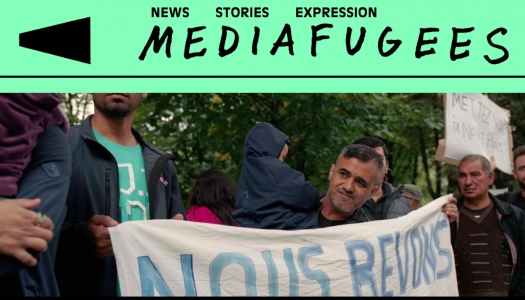 New media outlet challenging mainstream refugee coverage