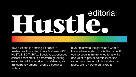 VICE Hustle: Editorial