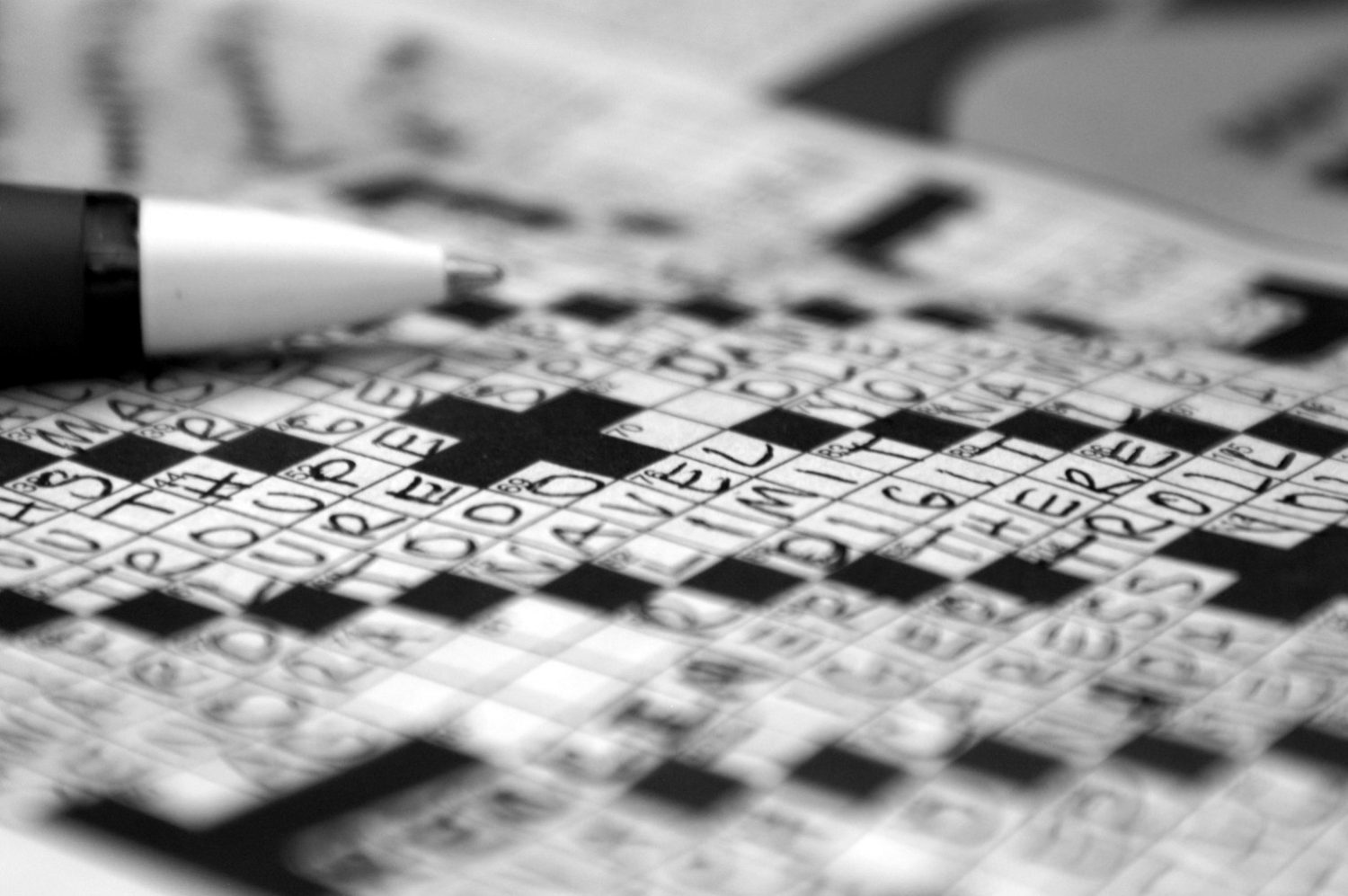 photo about Eugene Sheffer Crossword Printable identified as Neighborhood newspaper crossword at a crossroads - JSource