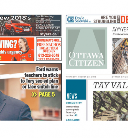Postmedia to close more local newspapers, cut staff cost by 10 per