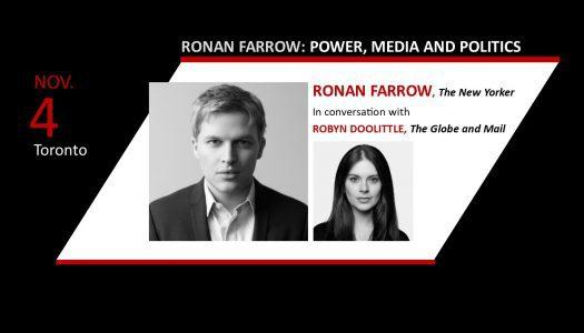 Ronan Farrow: Power, Media and Politics