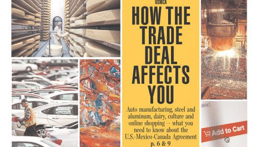 Front pages after new U.S.-Mexico-Canada trade deal; Quebec election