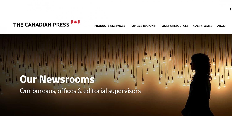 Canadian Press Website