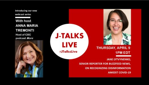 J-Talks Live – Recognizing Disinformation Amidst COVID-19