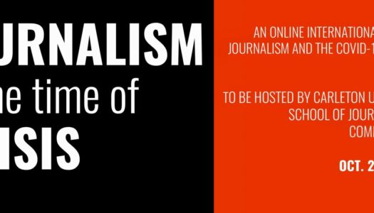 Journalism in the Time of Crisis