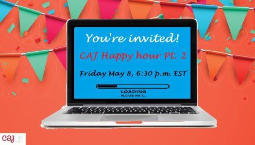 CAJ Cyber Happy Hour