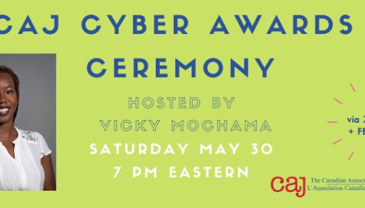 CAJ Cyber Awards Ceremony