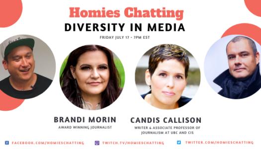 Homies Chatting: Diversity in Media