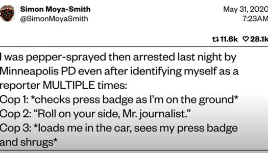 When the Press Badge Doesn't Protect You