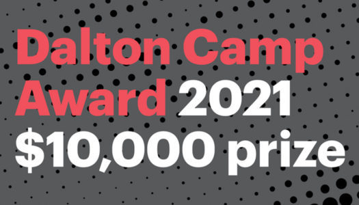 Submissions are open for the 2021 Dalton Camp Award