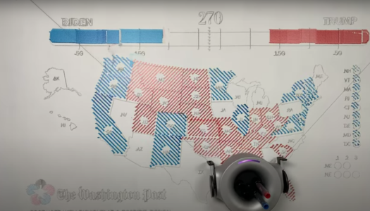 Top 4 interactive coverage styles of the 2020 U.S. election